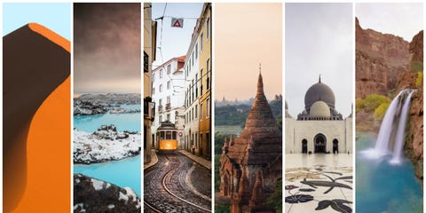 Photograph, Landmark, Colorfulness, Photography, Parallel, Collage, Dome, Holy places, Dome, Arch,
