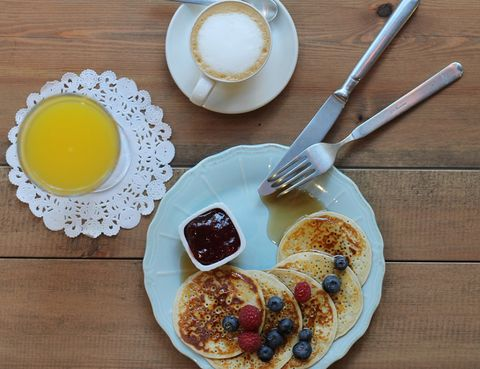 Dish, Food, Meal, Breakfast, Cuisine, Ingredient, Brunch, Scone, Full breakfast, Pancake,