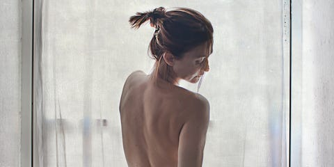 Shoulder, Dress, Back, Joint, Gown, Leg, Human body, Neck, Photography, Hand,