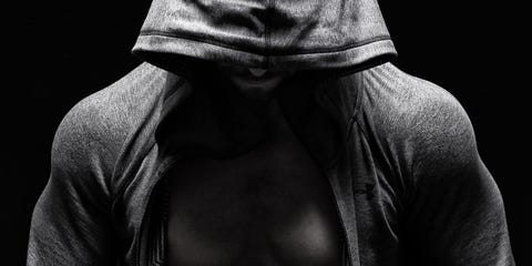 Textile, Darkness, Style, Neck, Jacket, Muscle, Black, Monochrome, Monochrome photography, Black-and-white,