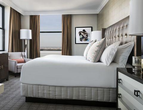 Bedroom, Furniture, Bed, Room, Mattress, Bed frame, Interior design, Bed sheet, Bedding, Property,