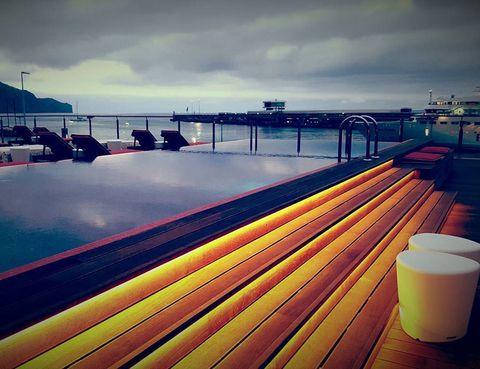 Reflection, Bridge, Evening, Pier, Dusk, Dock,