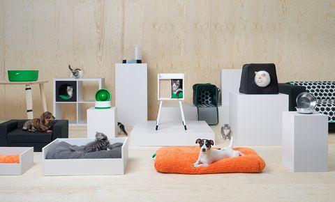 Tu gato y tu perro se merecían estos muebles (e Ikea lo sabía)