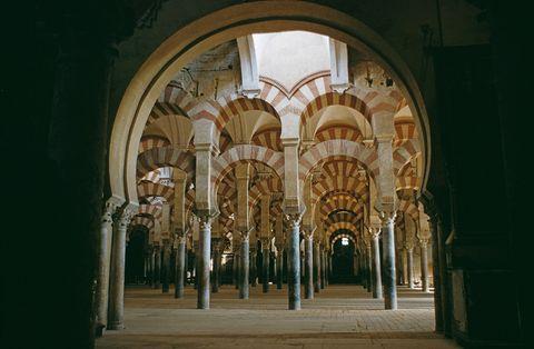 Architecture, Arch, Arcade, Column, Palace, Vault, Classical architecture, Medieval architecture, Symmetry, Byzantine architecture,