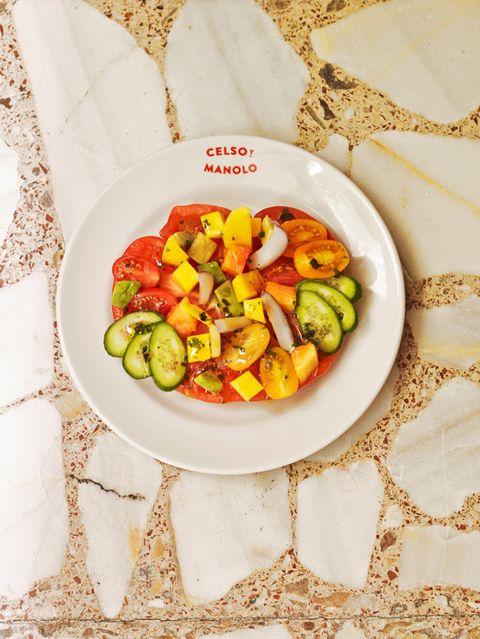 Cuisine, Dishware, Food, Produce, Tableware, Vegetable, Serveware, Fruit salad, Dish, Recipe,