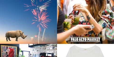 Fireworks, Font, Brand, Recreation, T-shirt, Event, Graphic design, Holiday, Sleeve, Top,