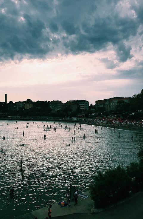 Sky, Body of water, Water, Sea, Cloud, Ocean, Beach, Coast, Wave, Shore,
