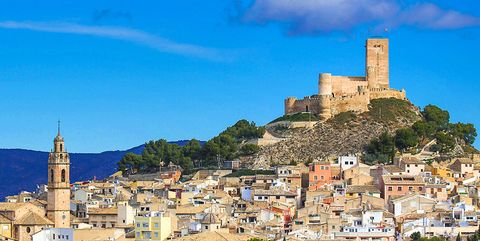 Sky, Blue, Town, Fortification, Landmark, Wall, Building, Castle, Ruins, Village,