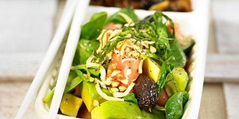 Food, Produce, Ingredient, Cuisine, Vegetable, Salad, Leaf vegetable, Tableware, Bowl, Garnish,