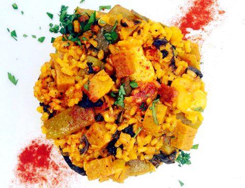 Yellow, Food, Orange, Cuisine, Colorfulness, Recipe, Ingredient, Dish, Mixture, Garnish,