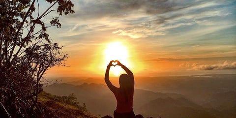Sunset, Sunrise, Sun, Sunlight, Backlighting, Evening, Morning, Dusk, Heat, Exercise,