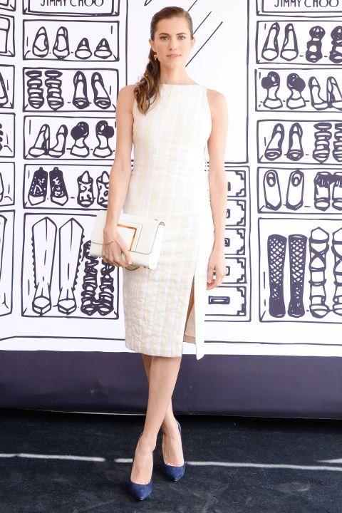 Sleeve, Shoulder, Dress, Joint, White, Style, Street fashion, One-piece garment, Fashion, Waist,