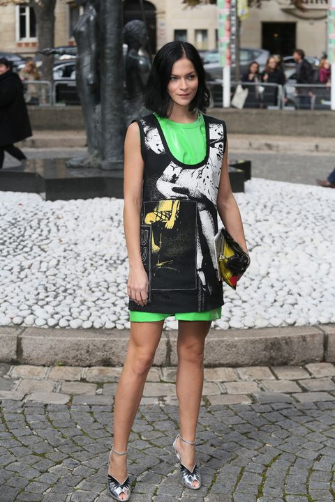 Clothing, Human leg, Photograph, Street, Style, Road surface, Street fashion, Bag, Jewellery, Fashion,