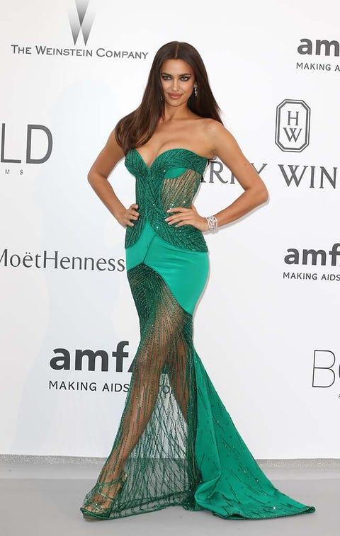 Clothing, Human, Green, Shoulder, Dress, Waist, Formal wear, Fashion model, Style, Gown,