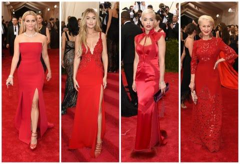 Dress, Red, Formal wear, Flooring, Style, One-piece garment, Fashion, Waist, Carpet, Day dress,