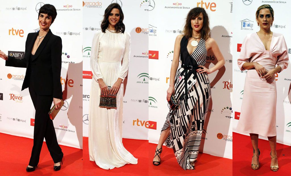 La alfombra roja de los Premios José María Forqué 2017