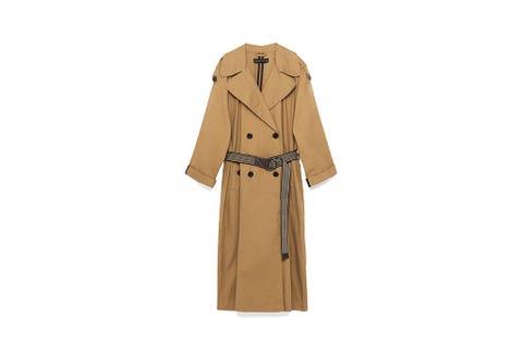 Clothing, Brown, Collar, Sleeve, Textile, Khaki, Coat, Formal wear, Tan, Fashion,