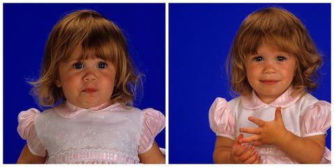Lip, Cheek, Mouth, Hairstyle, Eye, Skin, Chin, Forehead, Eyebrow, Child,