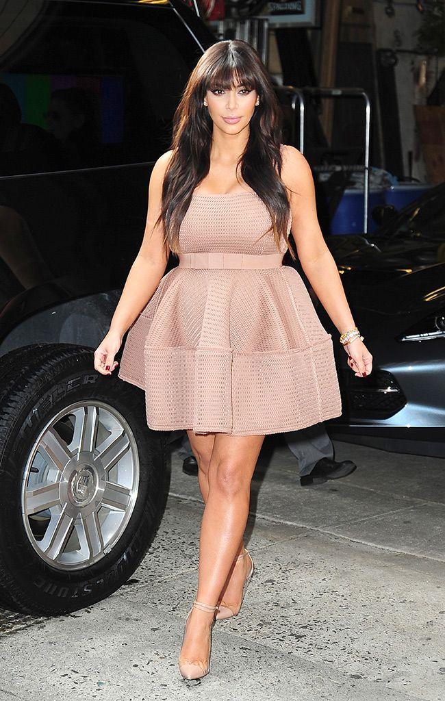 c96e08291 El estilo de Kim Kardashian (embarazada)