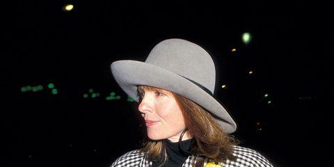Sleeve, Hat, Outerwear, Coat, Style, Formal wear, Sun hat, Street fashion, Headgear, Fashion accessory,