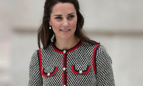 ddbe091f0 Kate Middleton con un vestido de Gucci. © Getty Images   © Gtres