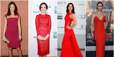 Clothing, Arm, Dress, Red, Shoulder, Waist, Joint, Flooring, Formal wear, Style,