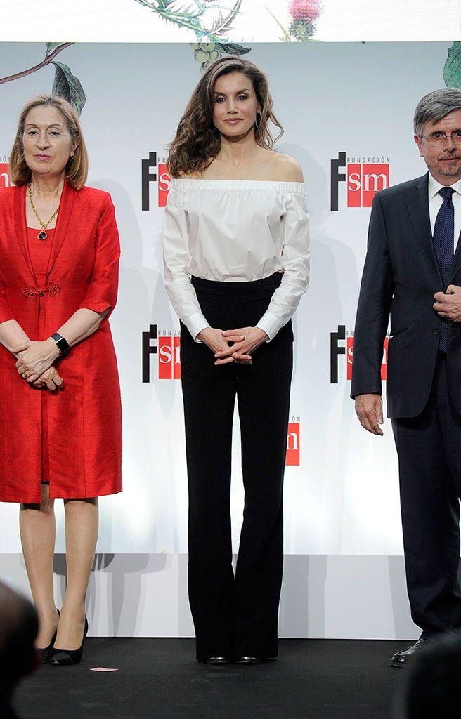 Letizia Vestido En Perú Y Boho La Intropia Reina El 13luKJcTF