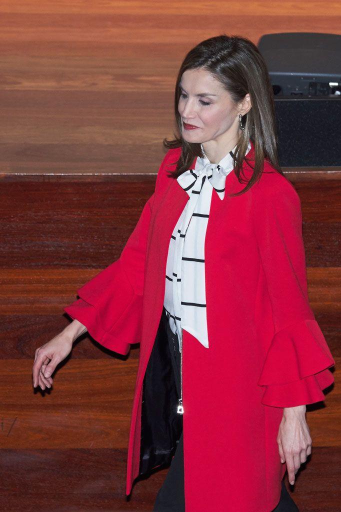 Letizia La Reina Vestido Y Perú El En Intropia Boho GpVqzMSU