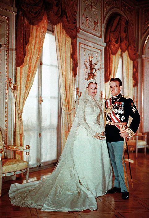 9d40d4c83 Grace Kelly llevó un segundo vestido el día de su boda (del que ...