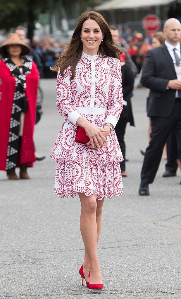Kate Middleton y su lección de estilo en Canadá