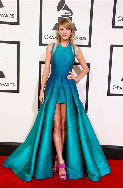 Clothing, Dress, Shoulder, Textile, Red, Flooring, Formal wear, Style, Fashion accessory, Teal,