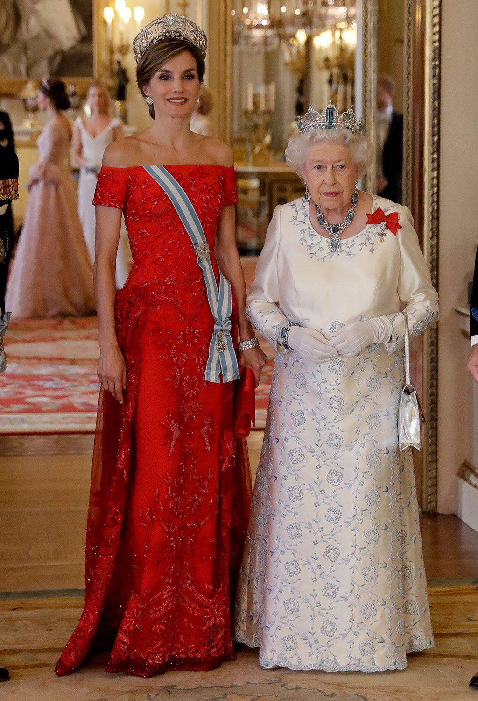 Vestidos rojos letizia