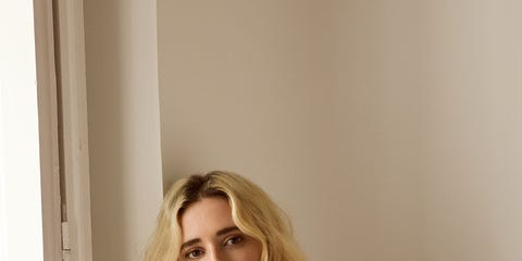 White, Shoulder, Clothing, Product, Footwear, Fashion, Outerwear, Blond, Joint, Sitting,