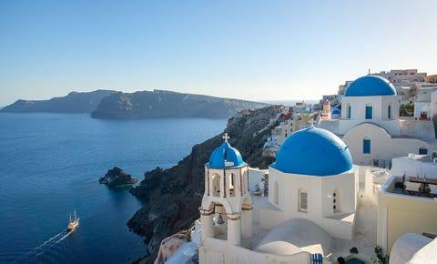 Blue, Sea, Dome, Sky, Azure, Tourism, Vacation, Summer, Coast, Island,