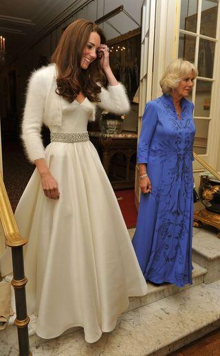 Sabías Que Kate Middleton Llevó Un Segundo Vestido De Novia