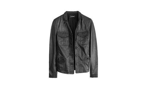 Clothing, Jacket, Collar, Sleeve, Coat, Textile, Outerwear, Style, Fashion, Leather,