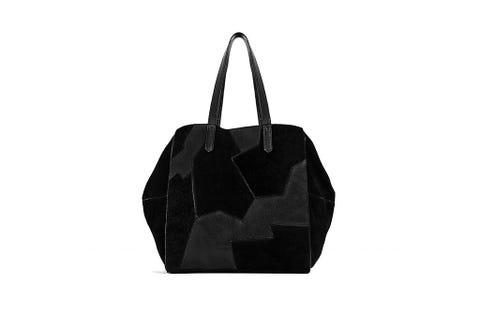 Style, Luggage and bags, Black, Bag, Black-and-white, Shoulder bag, Monochrome photography, Leather, Shopping bag, Tote bag,