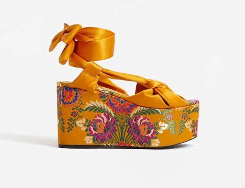 Orange, Footwear, Yellow, Shoe, Sandal, Fashion accessory,
