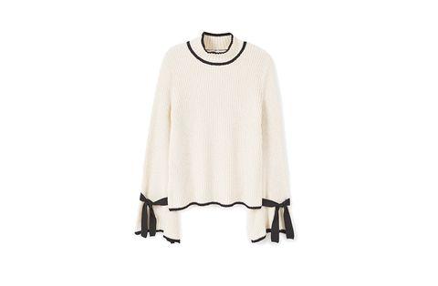 Product, Sleeve, Textile, Grey, Clothes hanger, Beige, Fashion design, Costume design, Pattern, Woolen,