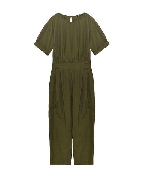 Product, Sleeve, Khaki, One-piece garment, Day dress, Active shirt, Fashion design, Pattern,