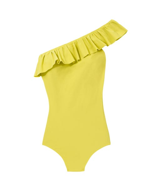 Clothing, Yellow, Product, One-piece swimsuit, Swimsuit bottom, Swimwear, Leotard, Briefs, Baby & toddler clothing, Swim brief,