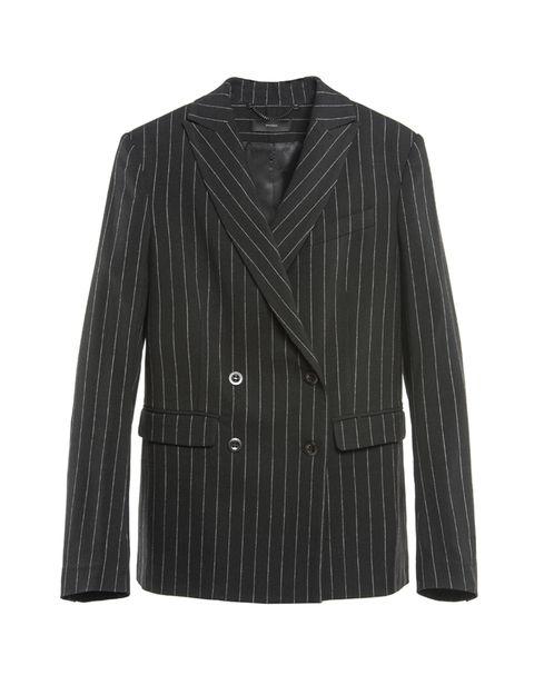Clothing, Coat, Collar, Sleeve, Textile, Outerwear, White, Style, Pattern, Blazer,