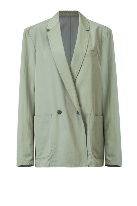 Clothing, Coat, Collar, Sleeve, Dress shirt, Textile, Outerwear, Blazer, Pattern, Fashion,