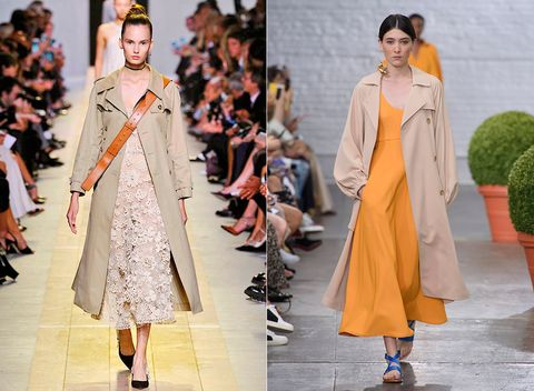 Fashion model, Fashion, Clothing, Runway, Haute couture, Fashion show, Street fashion, Outerwear, Orange, Dress,