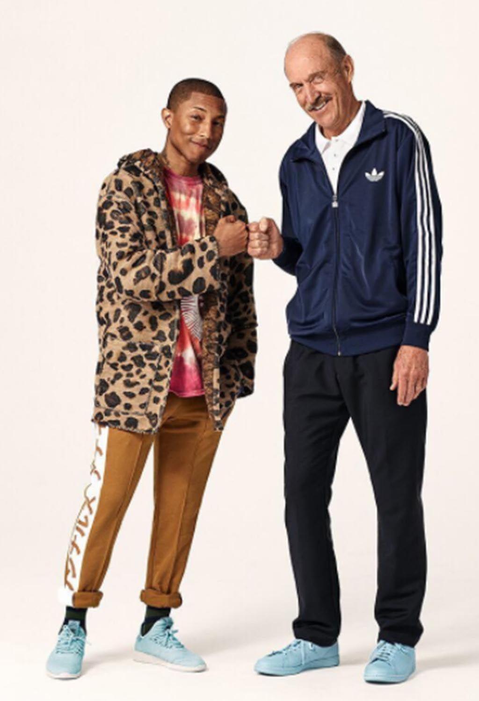 Adidas y Pharrel Williams, ritmo una colaboración con mucho ritmo Williams, 86f3c2