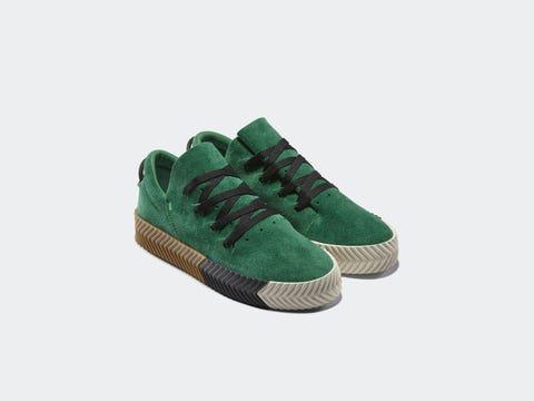 Footwear, Shoe, Green, Product, Sneakers, Outdoor shoe, Plimsoll shoe, Skate shoe, Suede, Sportswear,