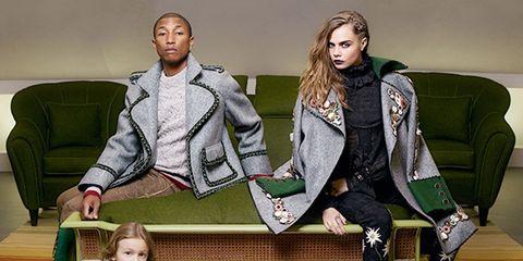 e265fc8c63 ... y estilismos de marcado estilo tirolés, Cara Delevingne y Pharrell  Williams –protagonistas del film CC the World– repiten como imagen de la  nueva ...