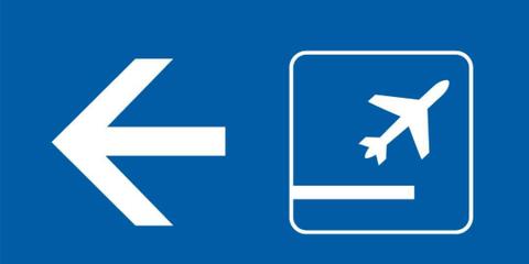 Text, Sign, Font, Electric blue, Signage, Majorelle blue, Symbol, Circle, Traffic sign,