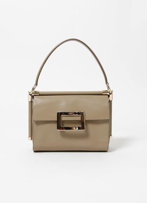 Brown, Bag, Khaki, Luggage and bags, Tan, Shoulder bag, Leather, Metal, Beige, Ivory,