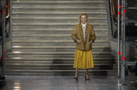 Yellow, Fashion, Standing, Fashion design,